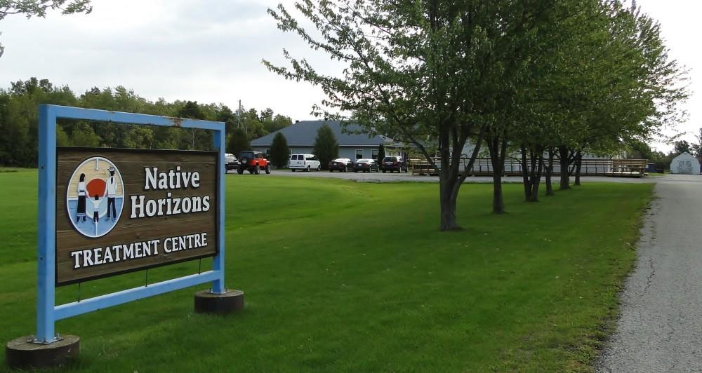 NHTC sign,driveway,bldg